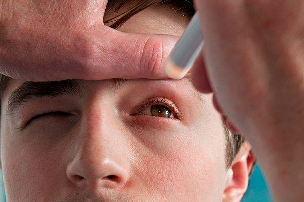 glaukom simptomi