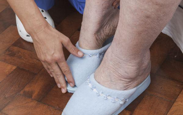 oticanje leve noge