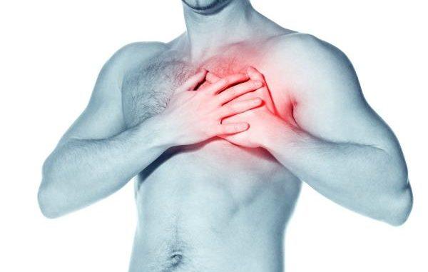 bol u grudima lijevo